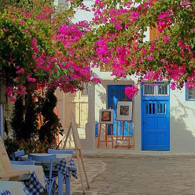 Pelas ruas de Mykonos... ? #viajandoadois