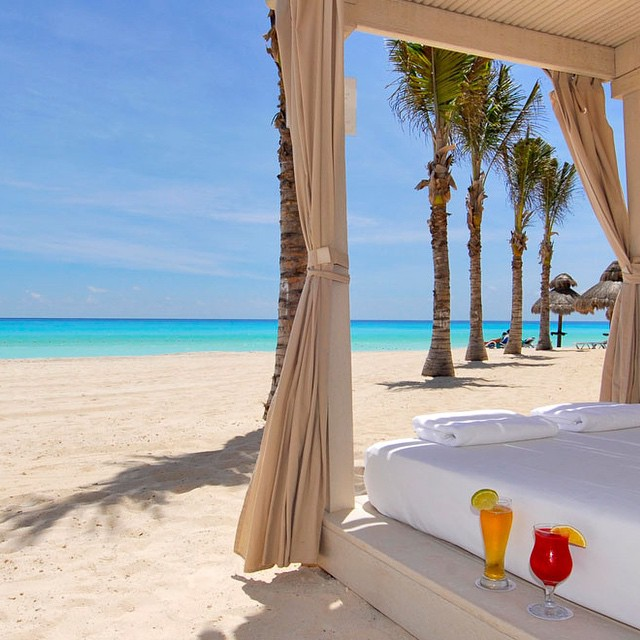 Missing Cancun! ☀️? Bom dia! #viajandoadois
