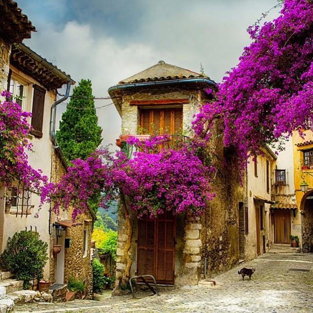Pelas ruas da Provence... ? #viajandoadois